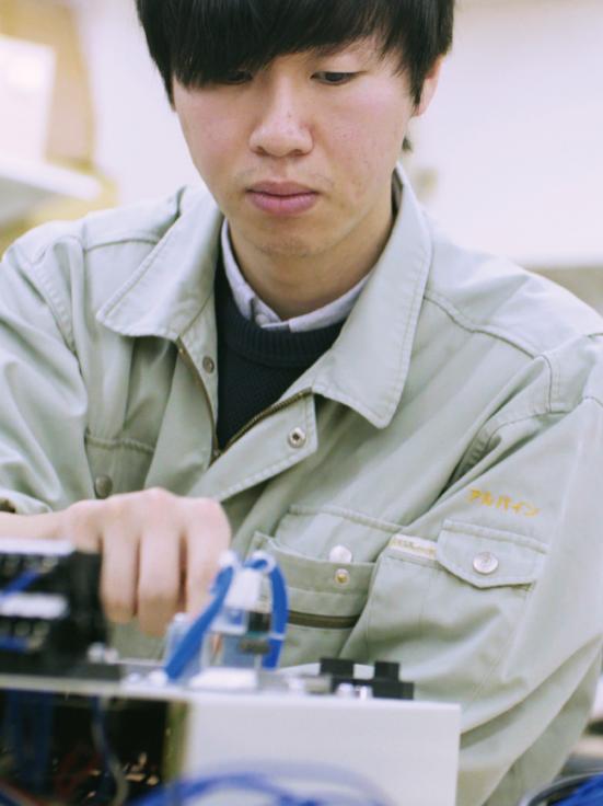電気設計担当 2007年入社 木村 健二